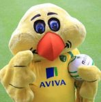 Captain Canary - Norwich City mascot