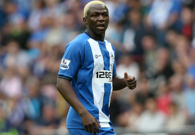 Arouna Kone grabbed a late consolation goal for Wigan