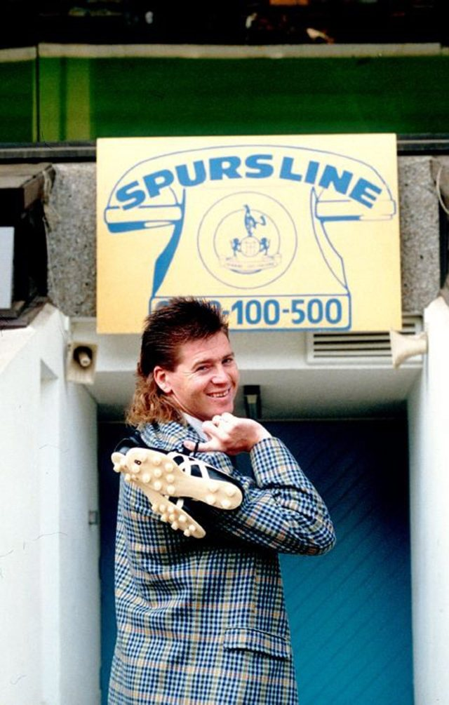 80's style Chris Waddle