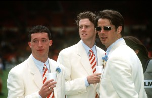 Liverpool's lovely white suits for the 1996 FA Cup Final