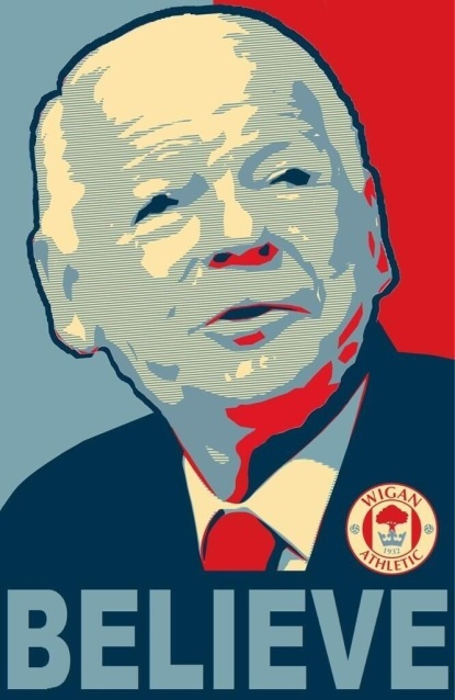 Dave Whelan - Image taken from Empty Seats EP