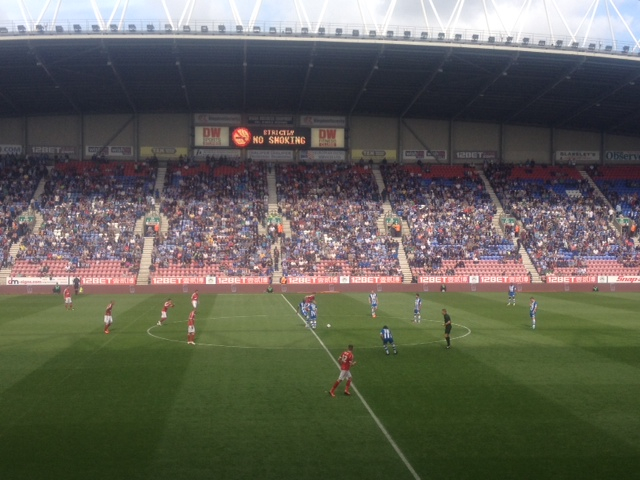 Wigan v Notts Forest 31 Aug 2013
