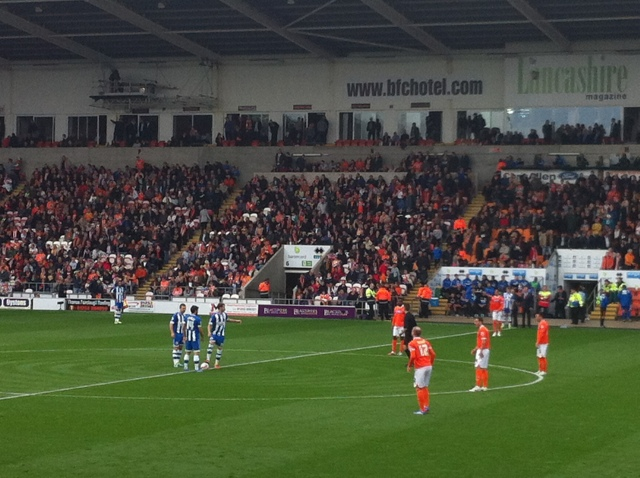 Kick Off at Bloomfield Road
