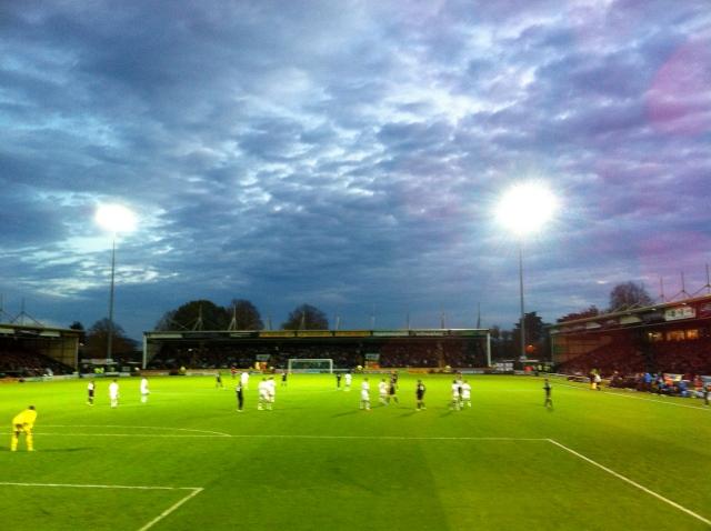 Yeovil Town versus Wigan Athletic