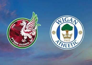 Rubin Kazan v Wigan Athletic