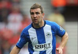 James McArthur Wigan Athletic