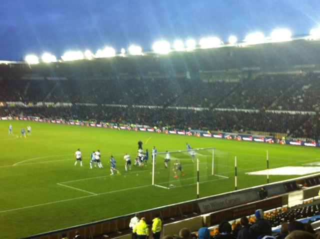 Derby County v Wigan Athletic 01/01/14p