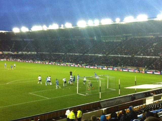 Derby County v Wigan Athletic 01/01/14p