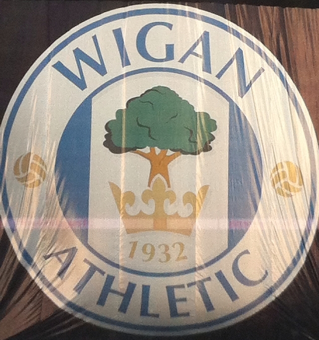 Wigan badge banner