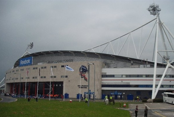 Macron Stadium formerly Reebok