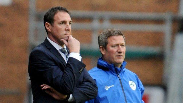 Malky Mackay and David Kerslake