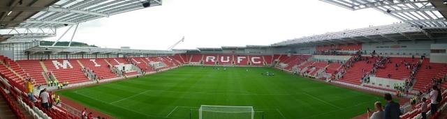 Rotherham United's New York Stadium