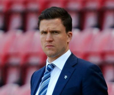 Wigan manager Gary Caldwell