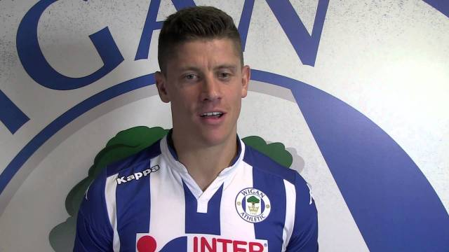 Alex revell Wigan Athletic