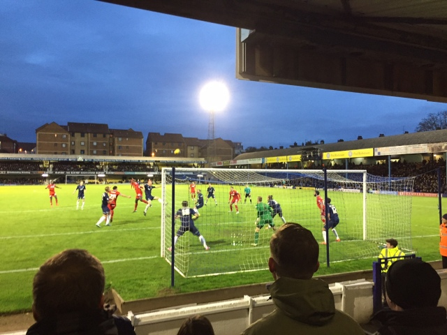 Southend United versus Wigan Athletic