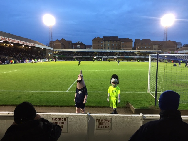 Southend United mascots