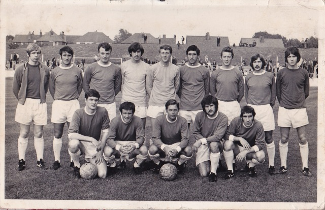 Wigan Athletic team photograph 1970