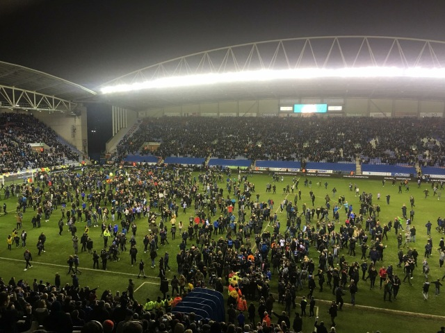 Pitch Invasion v City