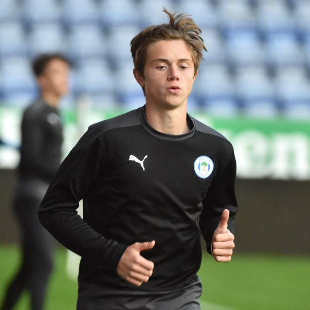 Thelo Aasgaard scored his first goal for Latics first team